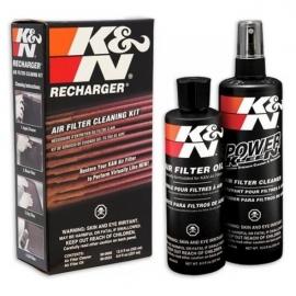 Čistící sada K&N, čistič a olej
