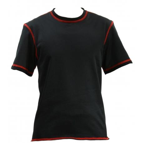 Funkční tričko Restless Polartec Classic krátký rukáv, černé