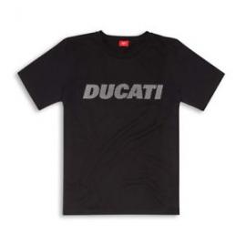 Pánské tričko Ducati Carbon Graphic Art originál, černé