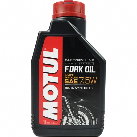 Vidlicový olej Motul Fork Oil 7,5W Factory Line Light/Medium 7.5W, 1L