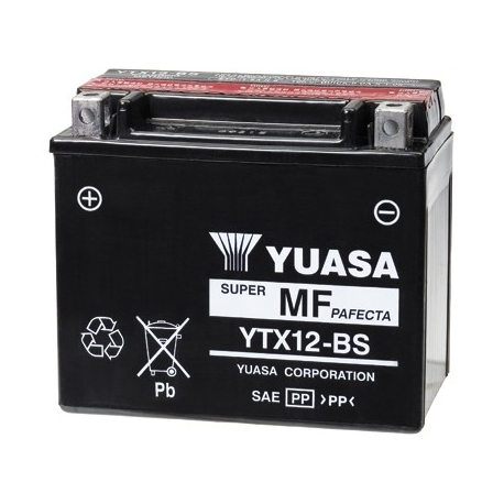 Motobaterie Yuasa YTX12-BS, 12V, 10Ah