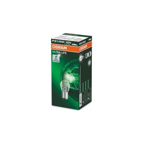 Žárovka Osram Ultra Life P21/5W BAY15d 12V 21/5W