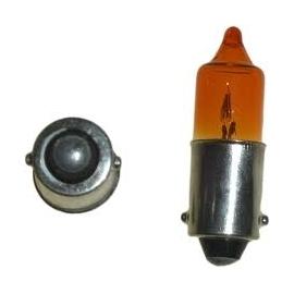 Žárovka Schum 12V, 23W, BA15s, oranžová
