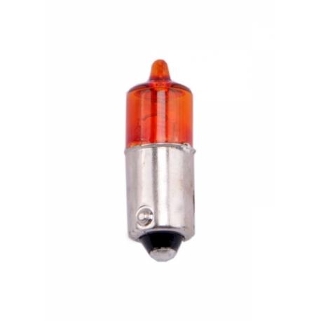 Žárovka Schum 12V 10W Halogen BAY9s - oranžová