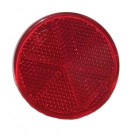 Odrazka Vicma kulatá samolepící, červená