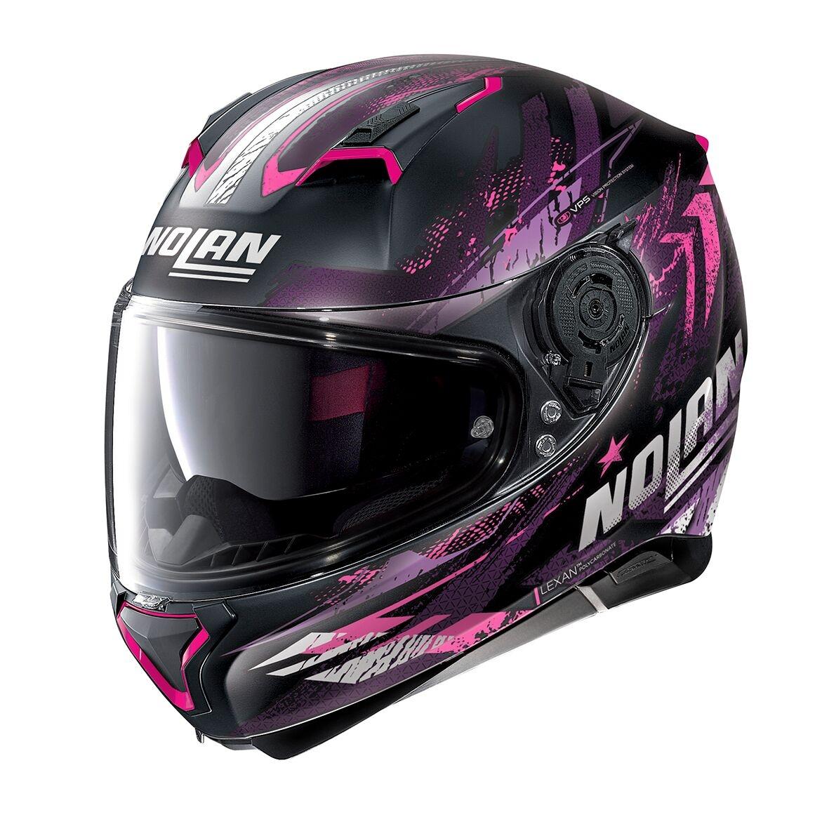 Moto helma Nolan N87 Carnival N-Com Flat Black 86