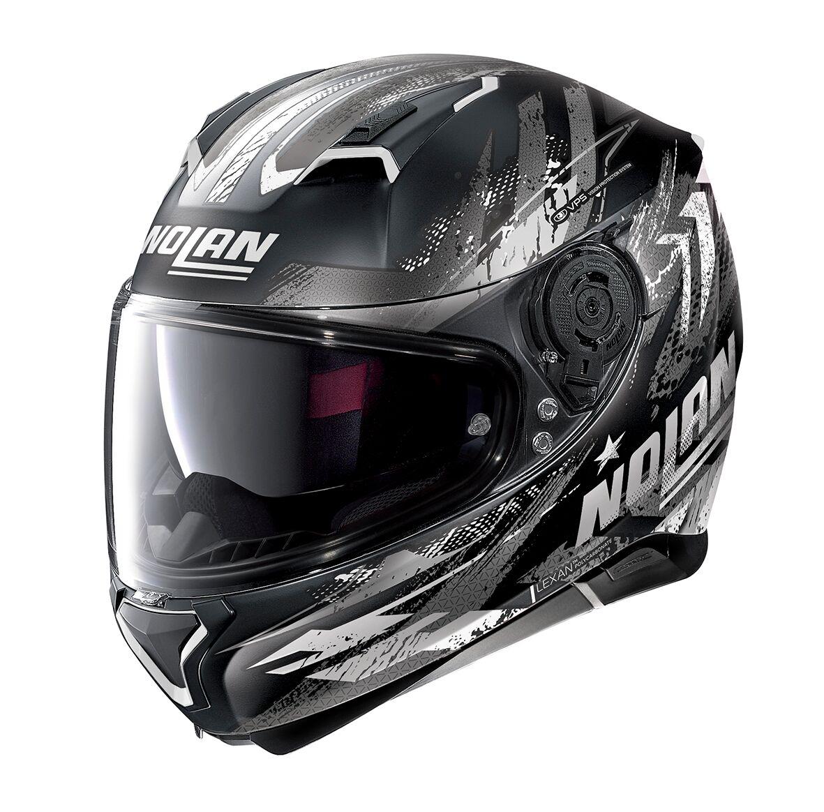 Moto helma Nolan N87 Carnival N-Com Flat Black 83