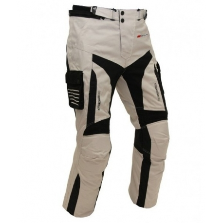 Pánské textilní moto kalhoty Spark GT Turismo, světlé