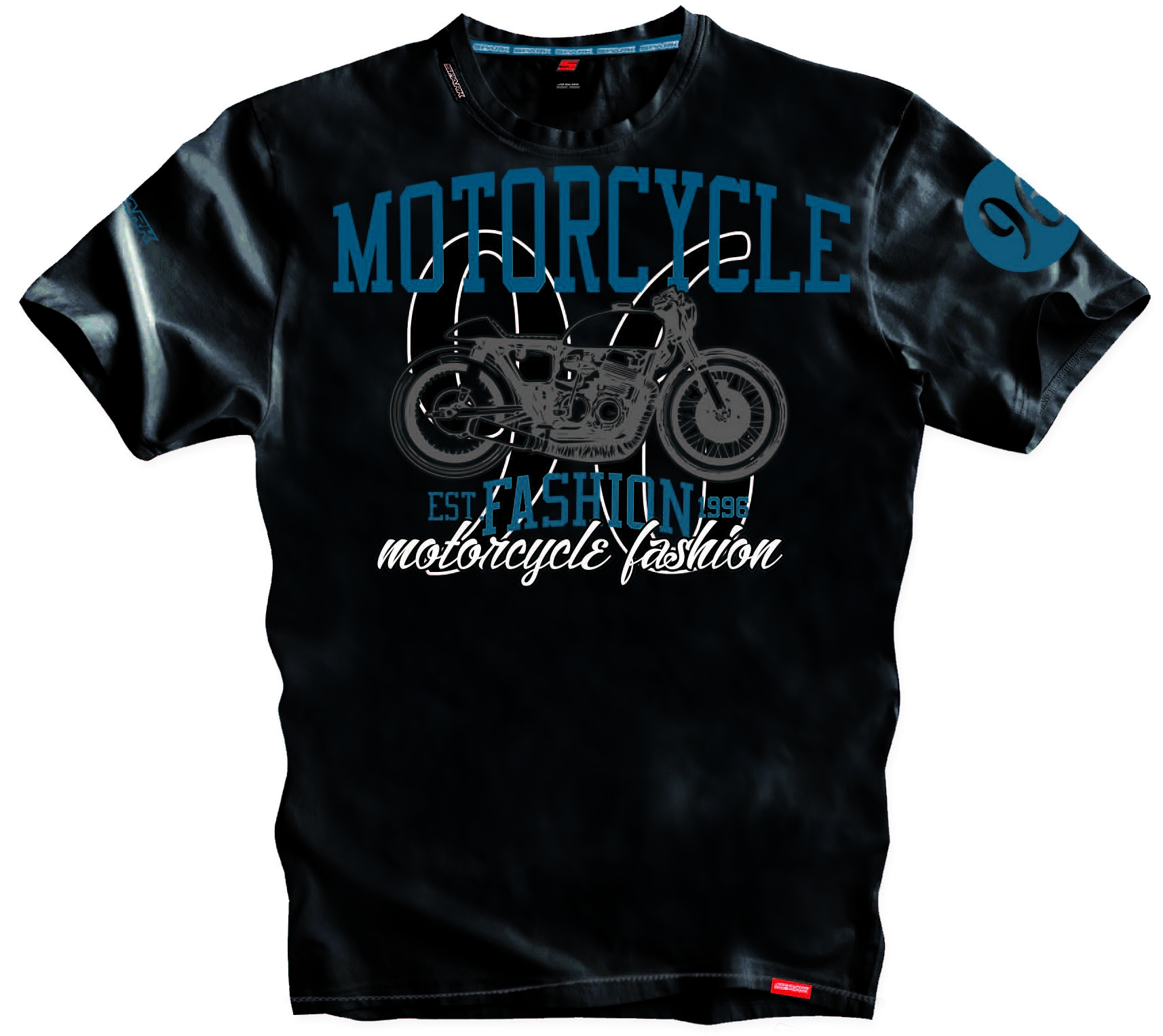 Pánské tričko Spark S 014, černé