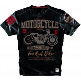 Pánské tričko Spark S 014-N, černé