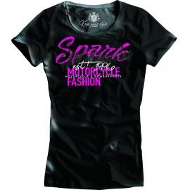 Dámské tričko Spark D 004, černé