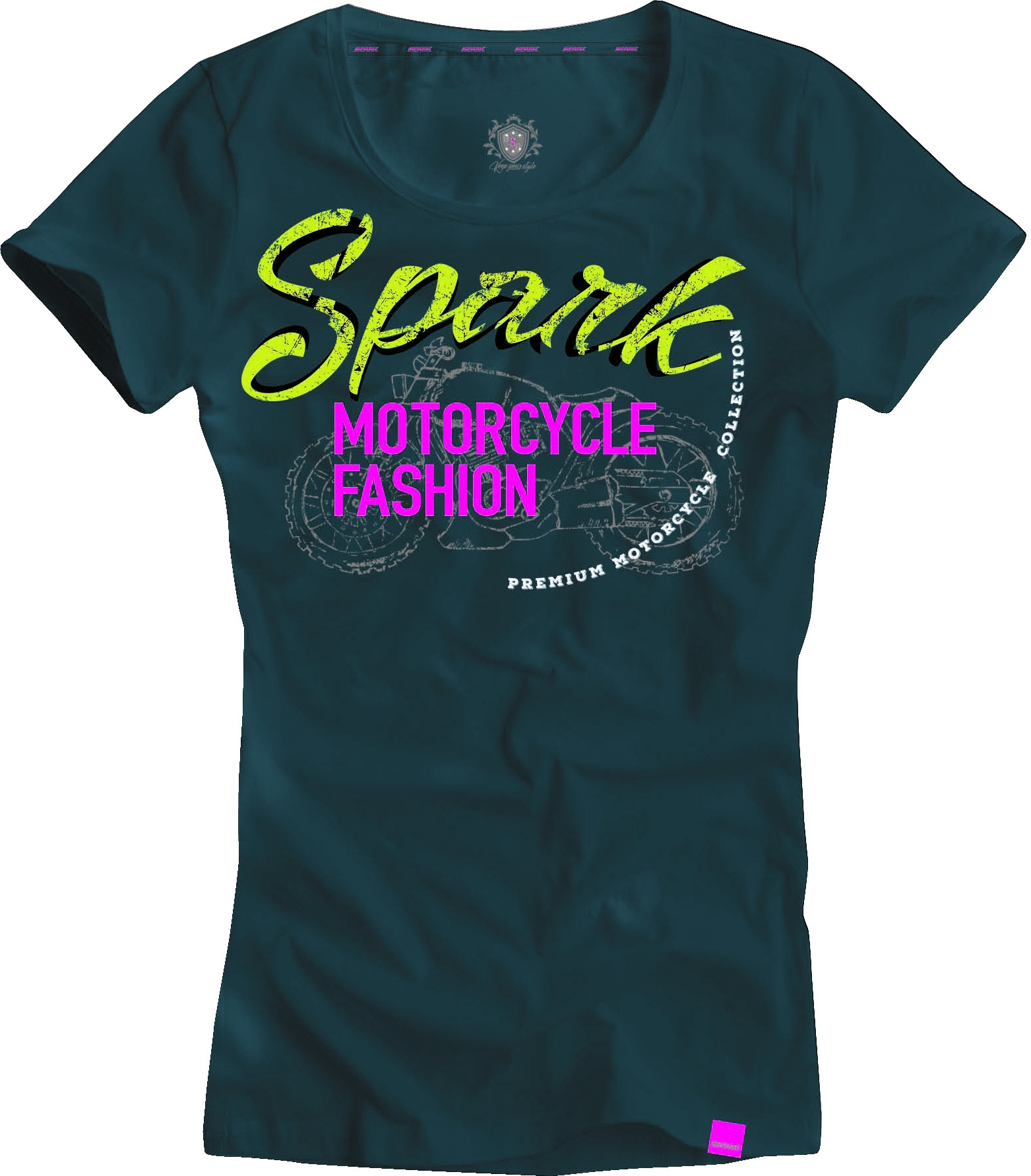 Dámské tričko Spark D 003, modré