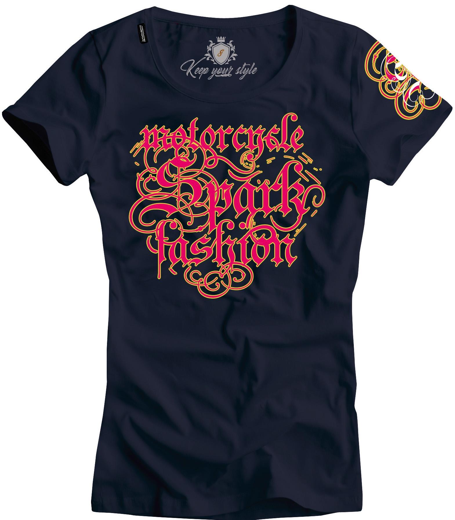 Dámské tričko Spark D 005-N, černé