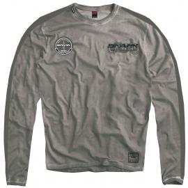 Pánské tričko Spark 001 dlouhý rukáv, šedé