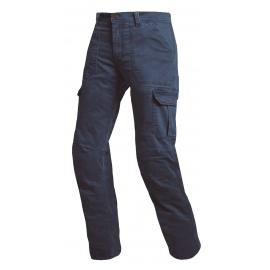 Pánské textilní moto kalhoty Spark Horizont, modré