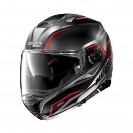 Moto helma Nolan N100-5 Balteus N-Com Flat Black 42