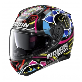 Moto helma Nolan N87 Gemini Replica N-Com Davies 96