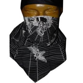 Třícípý šátek motiv Pavouk