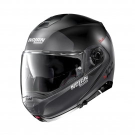 Moto helma Nolan N100-5 Plus Distinctive N-Com Flat Black 21