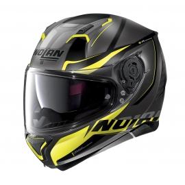 Moto helma Nolan N87 Miles N-Com Flat Lava Grey 88