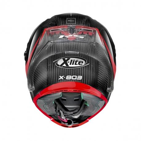 Moto helma X-Lite X-803 RS Ultra Carbon Hot Lap Carbon 13