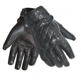 Dámské kožené moto rukavice SPARK LADY ISABELLE, černé