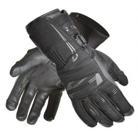 Pánské textilní moto rukavice Spark Globe, černé