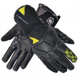 Pánské textilní moto rukavice Cyber Gear Pint, černé