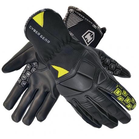 Moto rukavice Cyber Gear Pint Textil Short černé