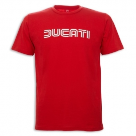 Pánské tričko Ducati Ducatiana 80s červené, originál