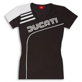 Dámské tričko Ducati 77 černé, originál