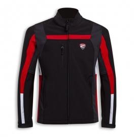 Pánská Softshell bunda Ducati Corse Windproof 3 černá, originál