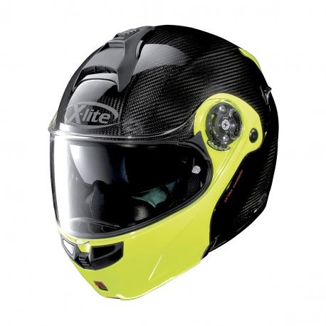 Moto helma X-Lite X-1004 Ultra Carbon Dyad Carbon Fluo Yellow 4 - 3XL