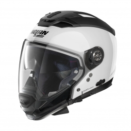 Moto helma Nolan N70-2 GT Special N-Com Pure White 15