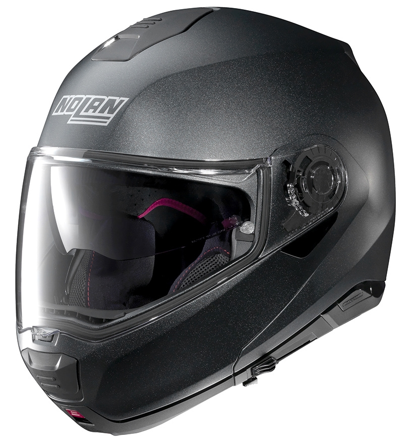 Moto helma Nolan N100-5 Special N-Com Black Graphite 9