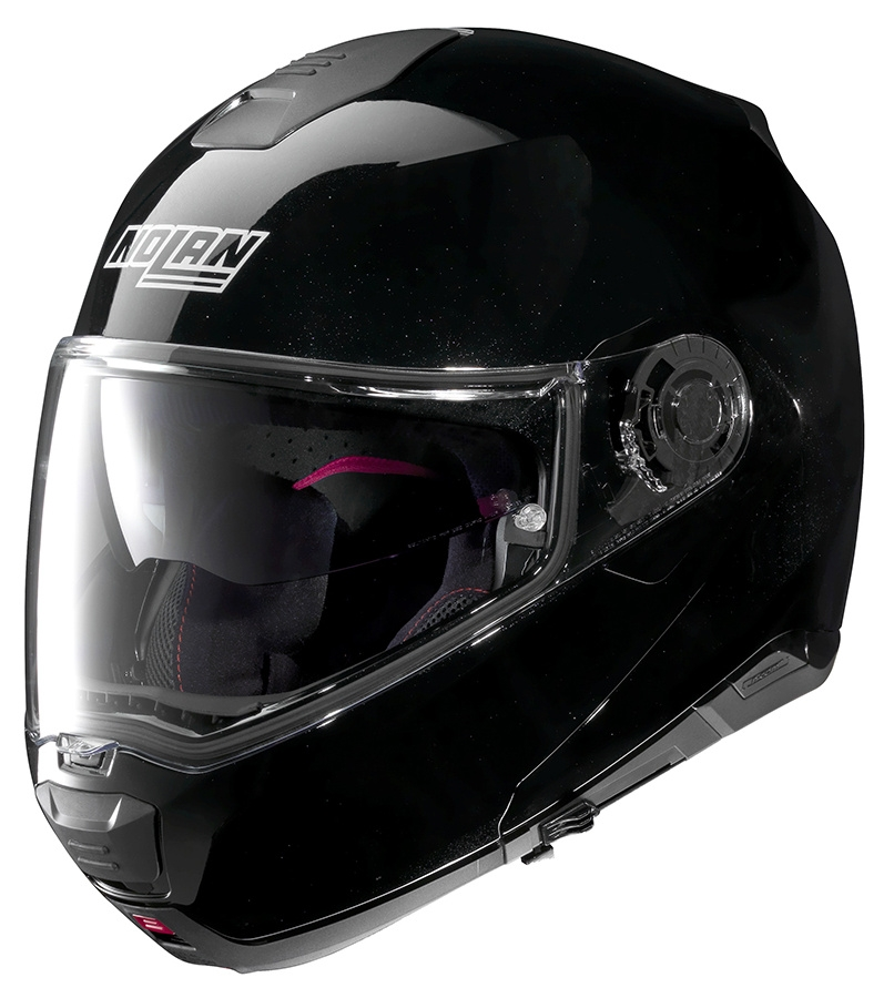 Moto helma Nolan N100-5 Special N-Com Metal Black 12