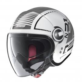 Moto helma Nolan N21 Visor Runabout Metal White 59