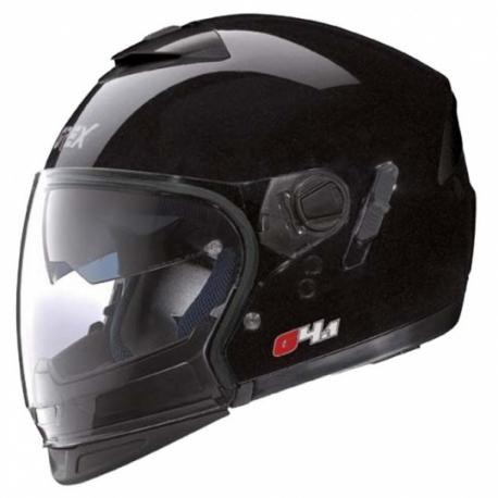 Moto helma Grex G4.1 Pro Kinetic Metal Black 1