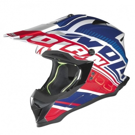 Moto helma Nolan N53 Flaxy Metal White 4