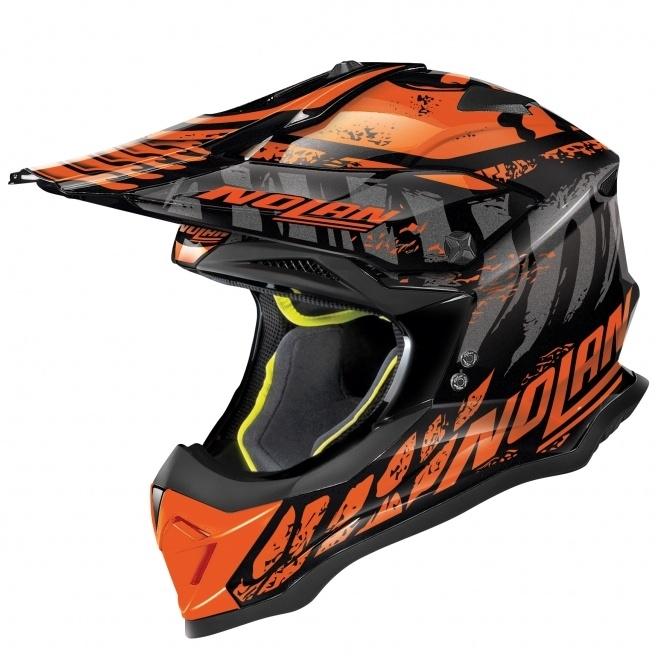 Moto helma Nolan N53 Skeleton Glossy Black 58