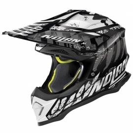 Moto helma Nolan N53 Skeleton Glossy Black 57