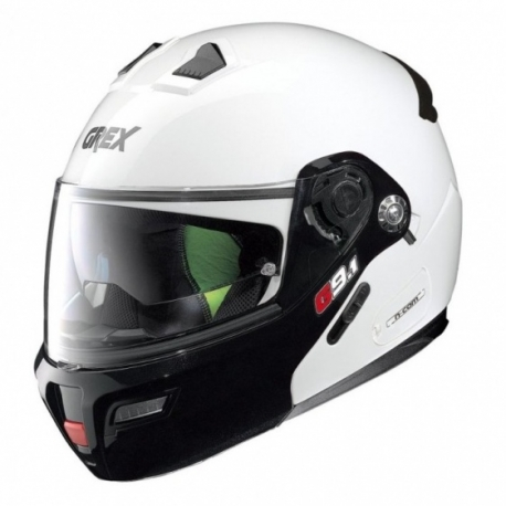 Moto helma Grex G9.1 Evolve Couple´ N-Com Metal White 20 - L