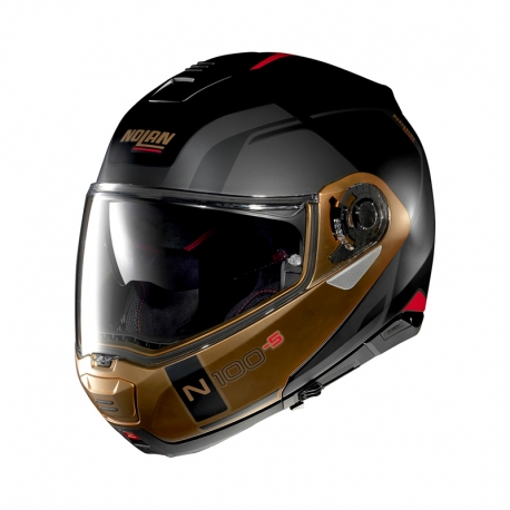 Moto helma Nolan N100-5 Consistency N-Com Flat Black 28