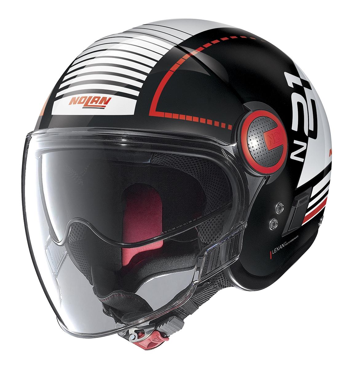Moto helma Nolan N21 Visor Runabout Glossy Black 57