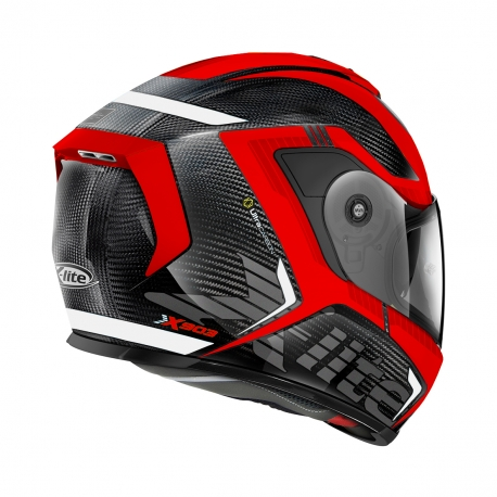 Moto helma X-Lite X-903 Ultra Carbon Evocator N-Com Carbon 31