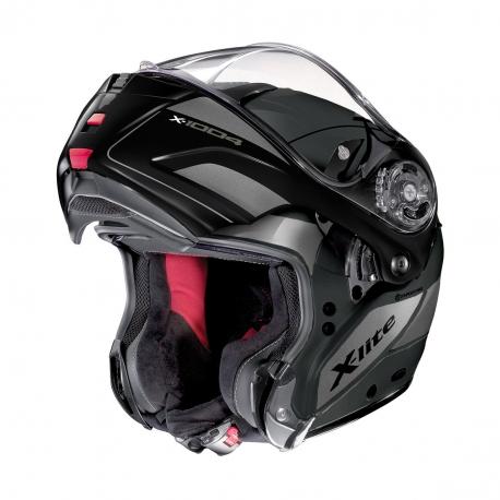 Moto helma X-Lite X-1004 Charismatic N-Com Flat Lava Grey 23