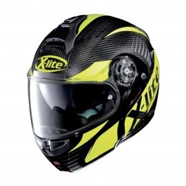 Moto helma X-Lite X-1004 Ultra Carbon Nordhelle N-Com Carbon 6