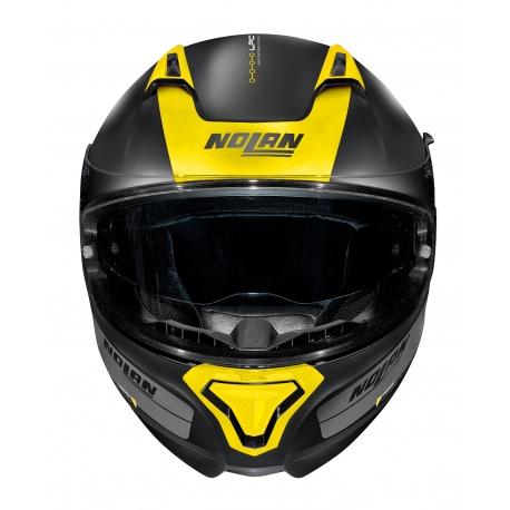 Moto helma Nolan N87 Plus Distinctive N-Com Flat Black 25