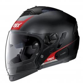 Moto helma Grex G4.2 PRO Vivid N-Com Flat Black 32