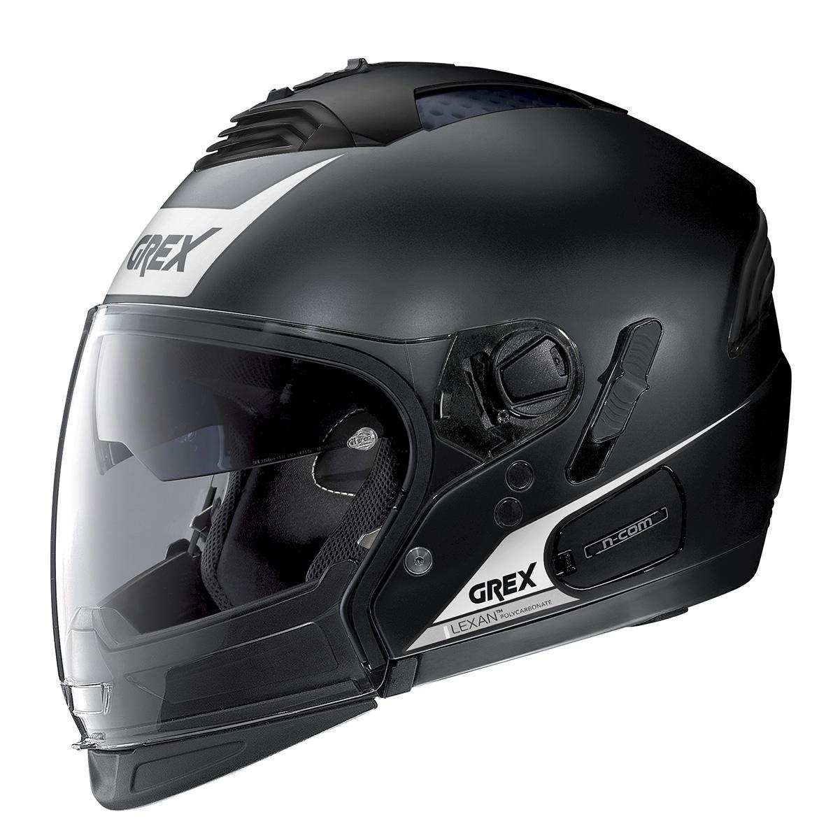 Moto helma Grex G4.2 PRO Vivid N-Com Flat Black 31